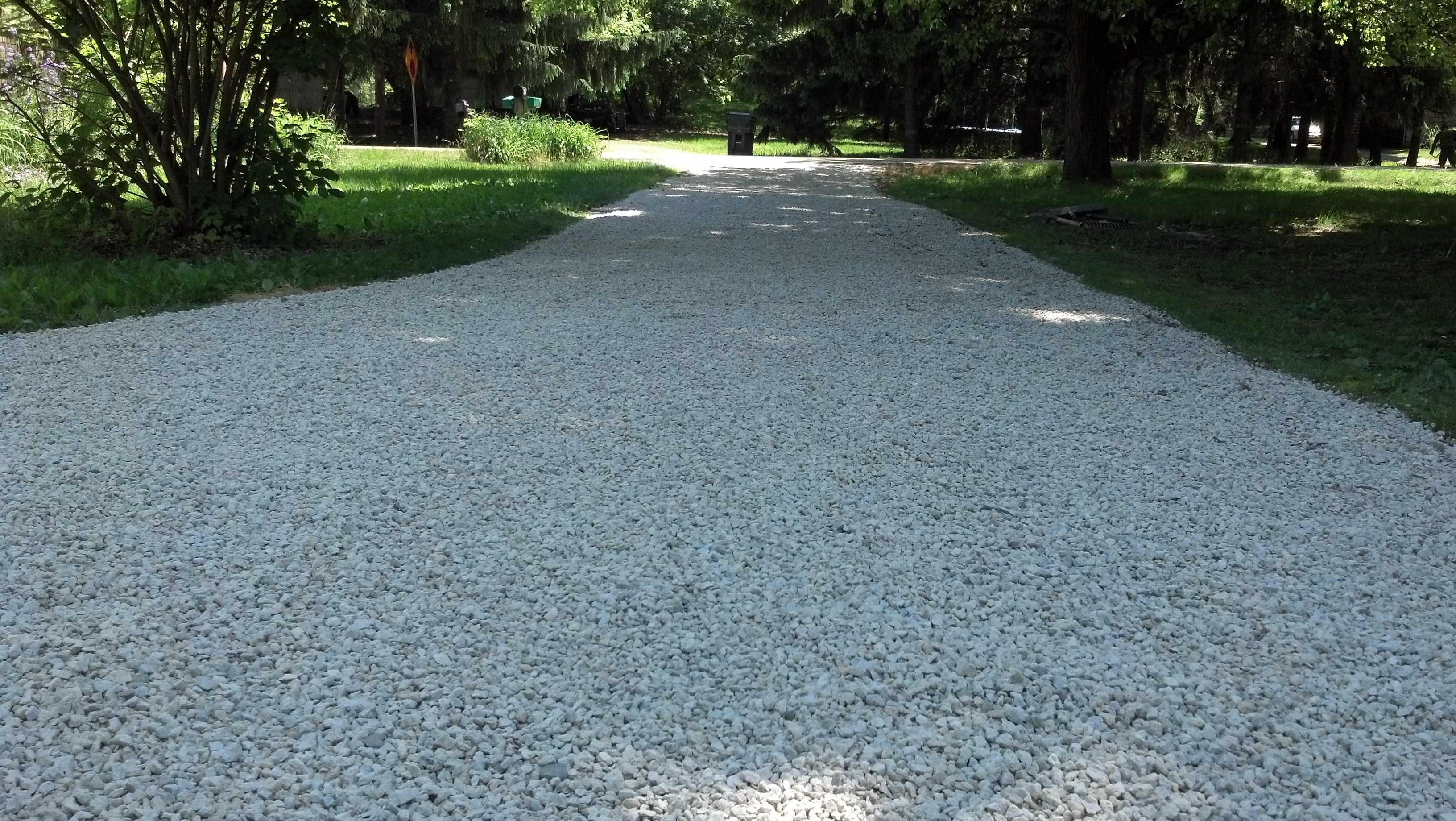 How to make gravel driveway